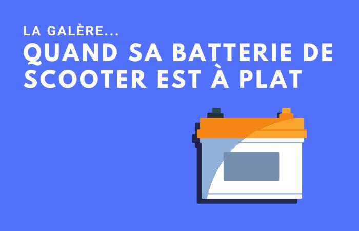 Quand la batterie de scooter est à plat ? Nos conseils et solutions