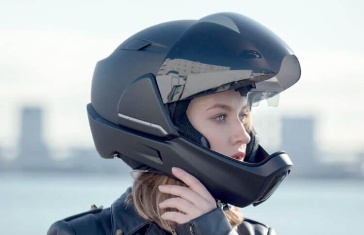 Le casque CrossHelmet X1