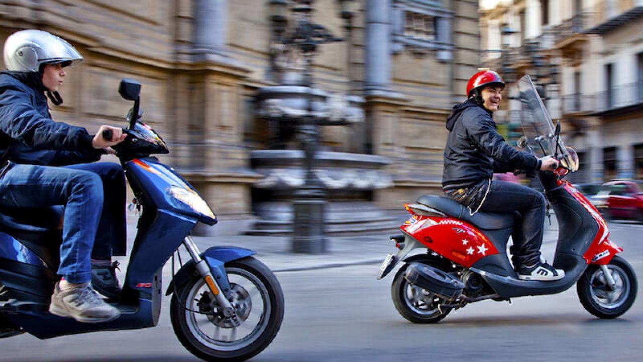 Scooter 50cc permis