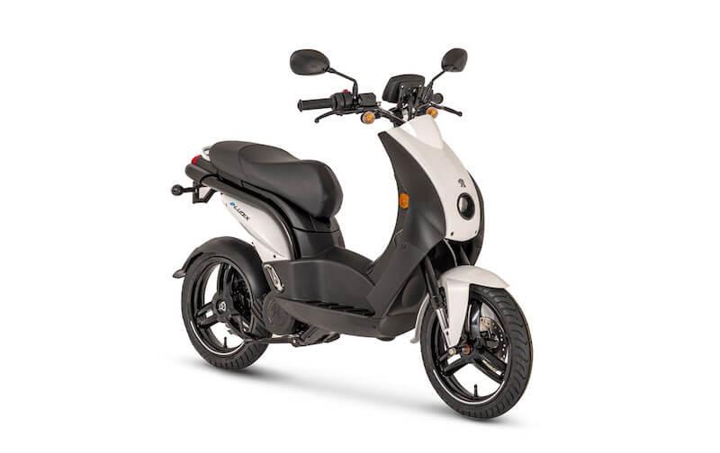 Le scooter électrique Peugeot e-Ludix