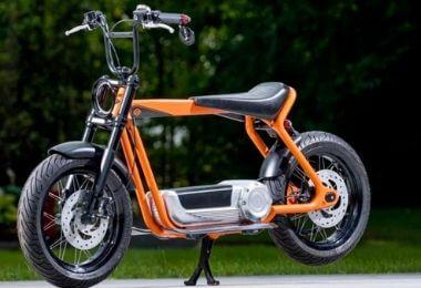 Le scooter électrique Harley Davidson