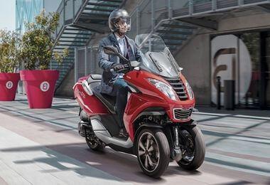 Le scooter 3 roues Peugeot Metropolis