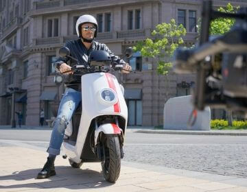 Le nouveau scooter Niu NQi GTS Sport