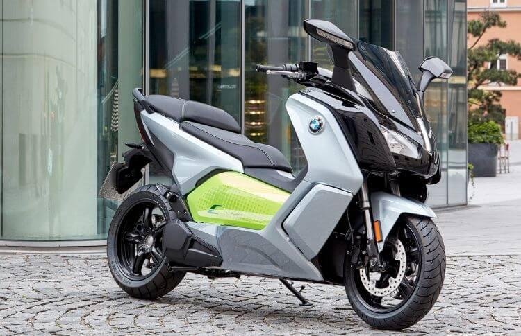 Un scooter électrique BMW C-Evolution d'occasion